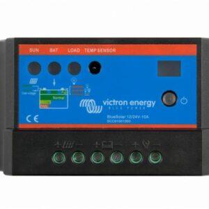 Ελεγκτής ηλιακού φορτιστή Victron Energy 12/24V 20A