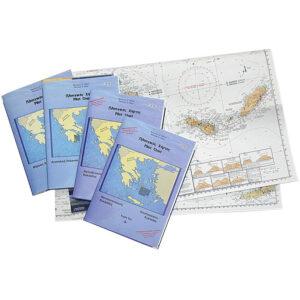 Πλοηγικός χάρτης, No10, δυτική Κρήτη
