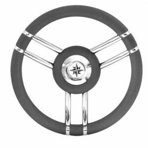 Τιμόνι με Ακτίνες Καμπύλες - Γκρι