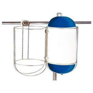 Μπαλονοθήκη Inox Mονή Φ170mm