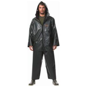 Σακάκι Αδιάβροχο με Κουκούλα Dispan 17S - Πράσινο Σκούρο